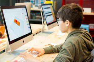 Photo d'atelier de modélisation 3D