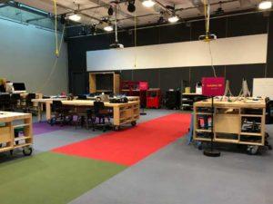 Photographie: Le MLab Creaform propose de nombreux équipements pour favoriser le développement de compétences numériques.